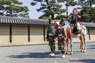 Jidai Matsuri Festival Kyoto Japan