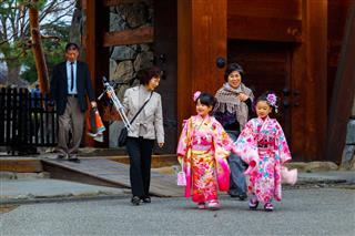 Festival Day In Japan