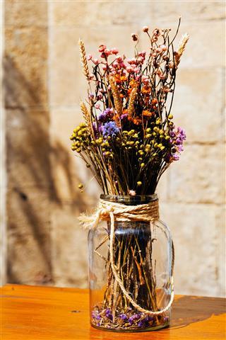 Dry Flowers Bouquet