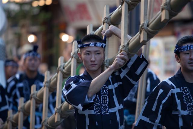 Celebrating Culture Day In Tokyo Japan