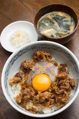 Japanese Cuisine Butadon