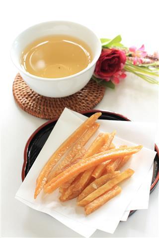 Japanese Food Deep Fried Sweet Potato