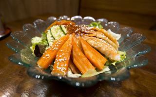 Salad Sashimi