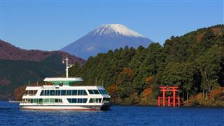 Mountain Fuji And Lake Ashi
