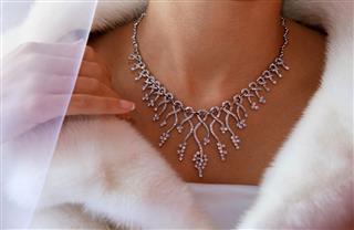 Wedding Diamond Necklace