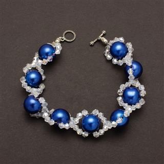 Expensive Bracelet With Swarovski Crystals