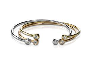 Gold And Diamond Bracelets