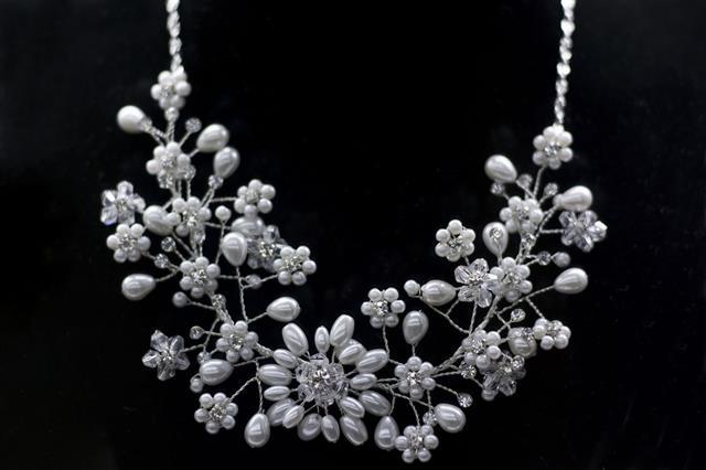 Round Diamonds Necklace