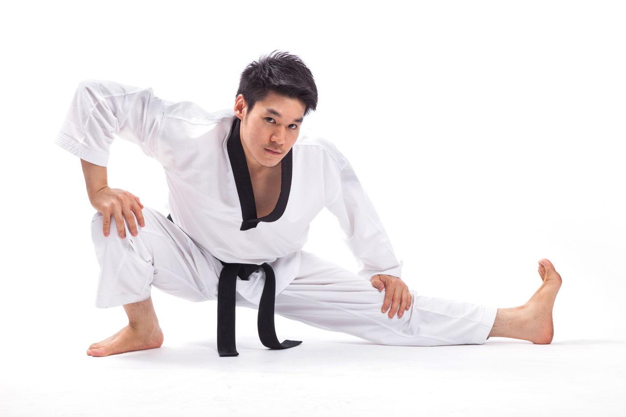 basic moves   student  taekwondo