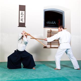 Aikido Wood Sword Technique