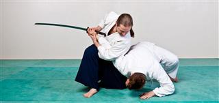 Aikido Sword Defense Technique
