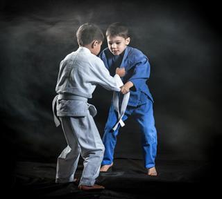 Judo Practice To Boys