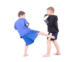 Kids Kickboxing Fight