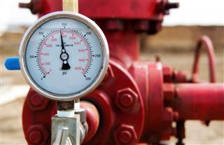 Meter Of A Pressure Gauge