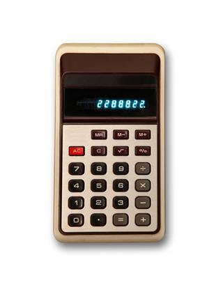 Old Plastic Calculator