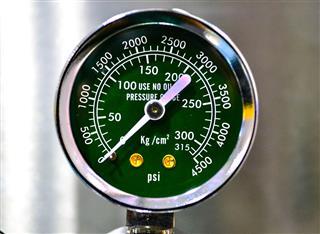 Circle Pressure Gauge