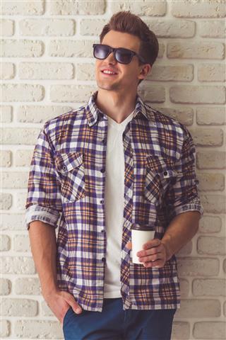 Handsome Stylish Guy