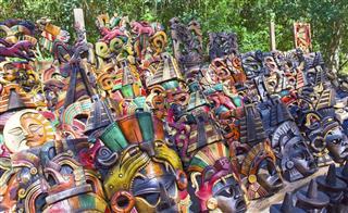 Mexico Souvenir Bench