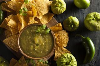 Salsa Verde With Cilantro