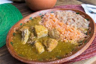 Asado De Puerco Mexican Dish