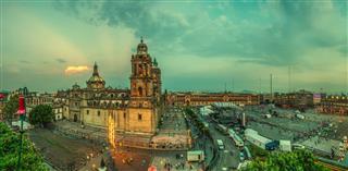 Metropolitan Cathedral Of Mexico City