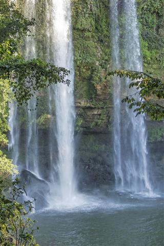 Misol Ha Waterfalls In Mexico