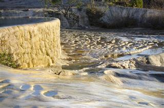 Mineral Springs At Hierve El Agua