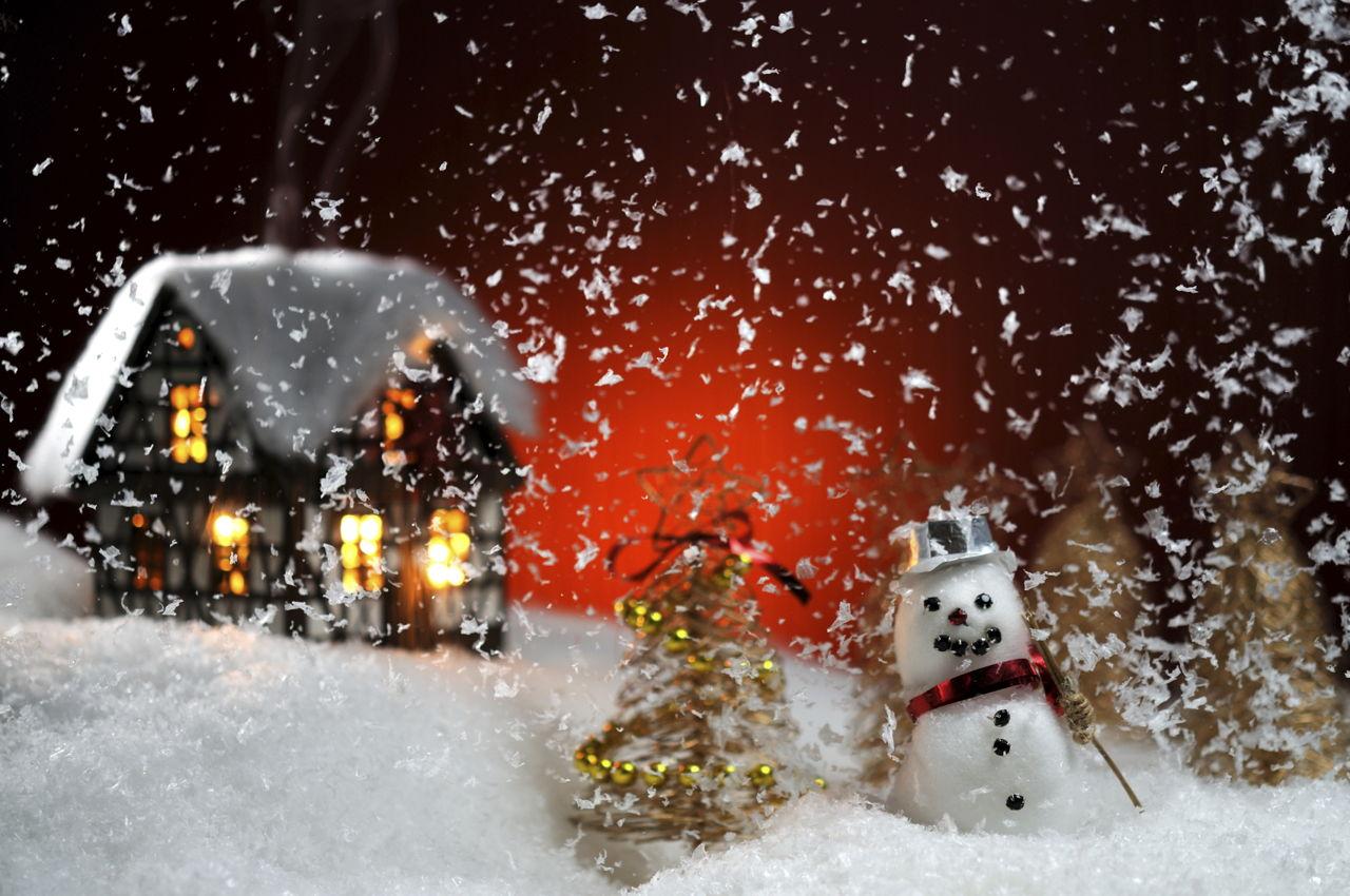 Fake Snow Decoration
