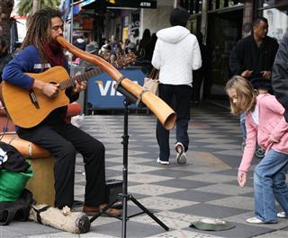 Aboriginal Street Musician