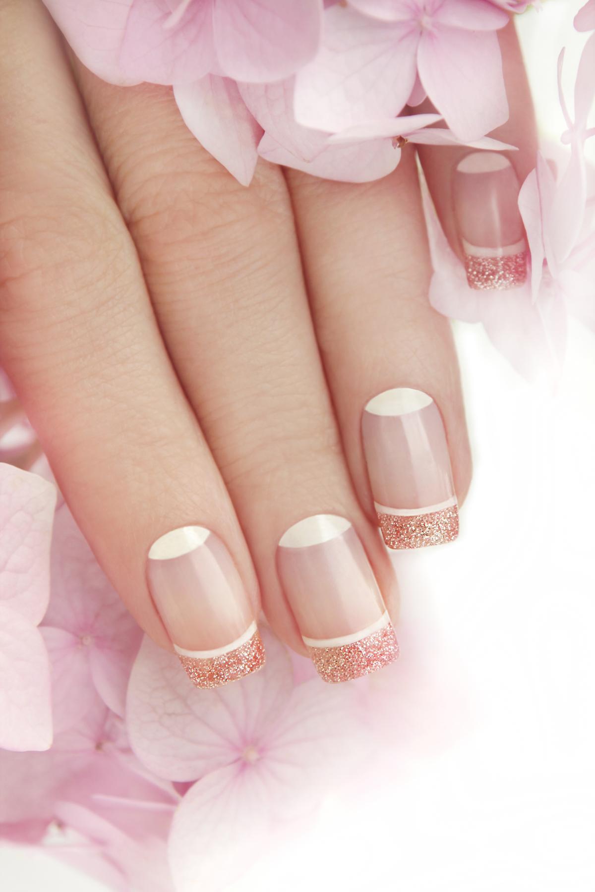 Blue Fingernails