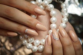 Nails, hands, manicure