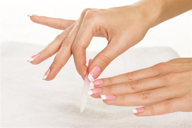 Nail file process