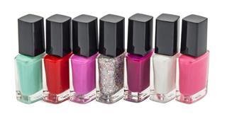 Nail polish row
