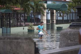 Paseo Del Prado Was Flooded Havana