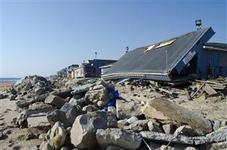 Misquamicut Beach After Hurricane Sandy