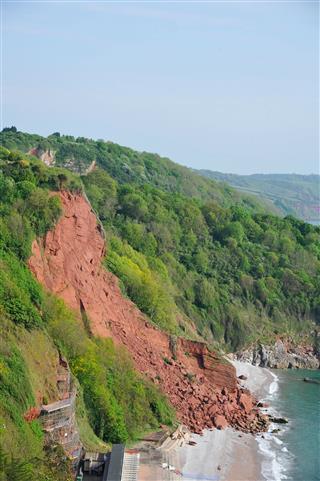 Cliff Fall Landslide