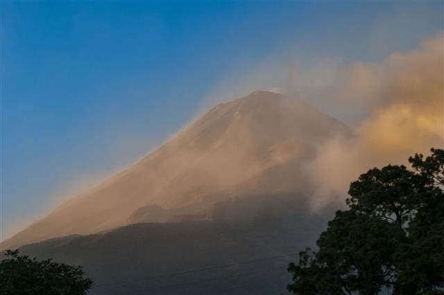 Sandstorm On The Volcano