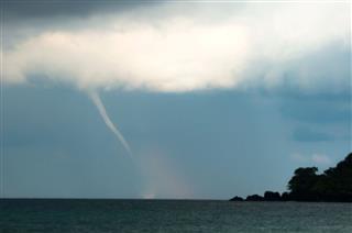 Small Tornado In Thailand