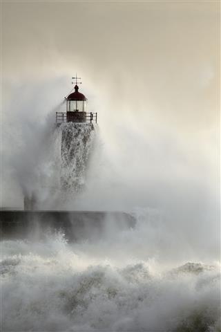 Heavy Ocean Storm