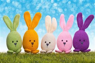 Handmade Crochet Easter Bunny