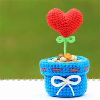 Handmade Crochet Heart