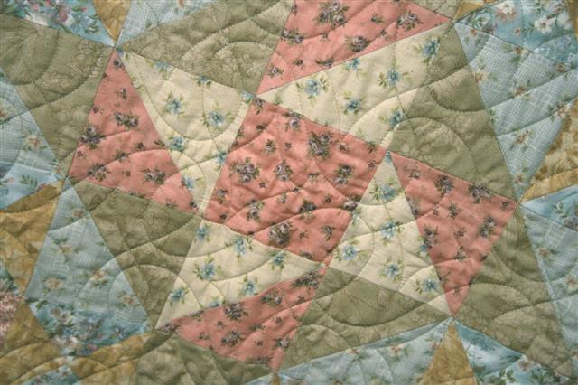 Quilt Pinwheel Star