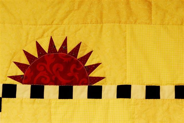 Sunshine Pattern Quilt