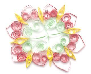 Colorful Paper Snowflake