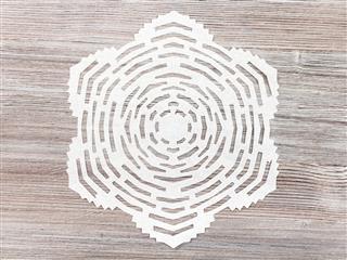 Snowflake Brown Table
