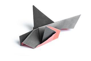 Origami Bullfinch