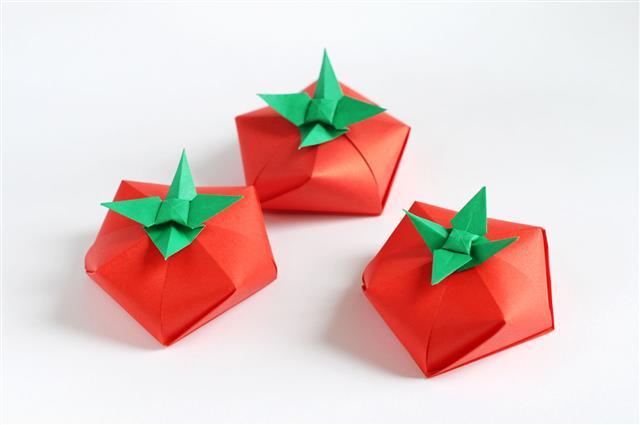 Origami Tomato