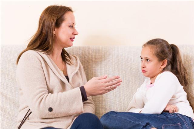 Woman Shaming Little Daughter