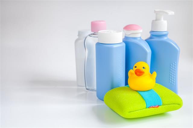 Baby Organic Cosmetic For Bath