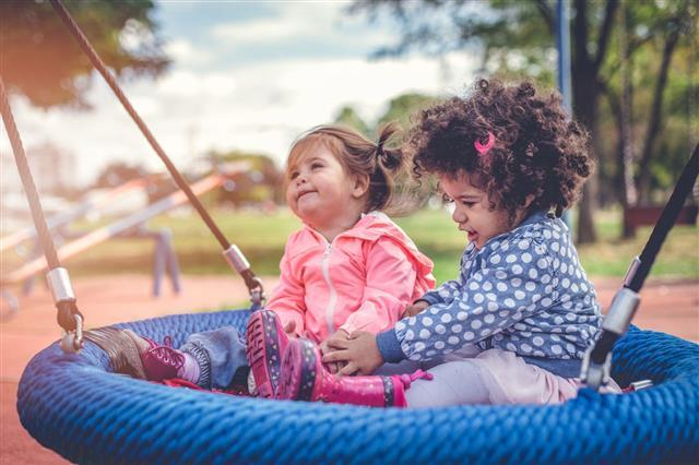 Girls On A Playground